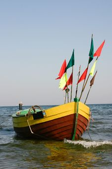 Free Fisherman Boat Royalty Free Stock Image - 4518586