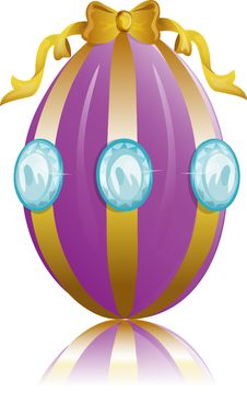 Free Diamond Easter Egg Stock Photography - 4518602