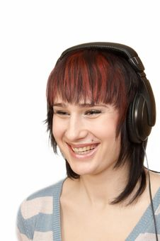 Free Woman&music Stock Image - 4519281