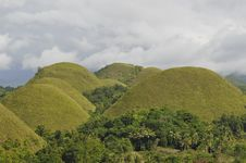 Free Chocolate Hills, Philippines Stock Photo - 45176670