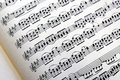 Free Music Notes Background Stock Photography - 4520792