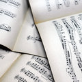 Free Music Notes Background Royalty Free Stock Photography - 4520807