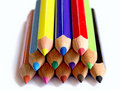 Free Colorful Pencil Stack Stock Image - 4525801