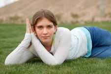 Free Young Girl Royalty Free Stock Photos - 4520138