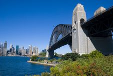 Free Sydney Harbor Bridge City Stock Photos - 4520653