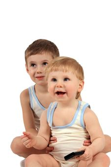 Free Two Boys Royalty Free Stock Image - 4520866