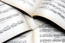 Free Music Notes Background Stock Photos - 4520933