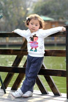 Free Little Lovely Girl Stock Image - 4521161
