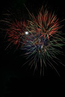 Free Fireworks 5 Royalty Free Stock Images - 4521349