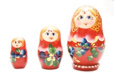 Free Russian Three Matreshka Royalty Free Stock Photos - 4521378