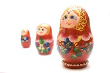 Free Russian Three Matreshka Stock Photo - 4521400