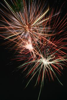 Free Fireworks 7 Royalty Free Stock Photos - 4521438
