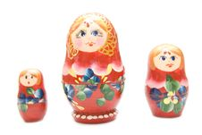 Free Russian Three Matreshka Stock Photo - 4521460