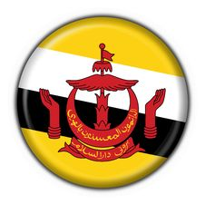 Free Brunei Button Flag Round Shape Stock Image - 4521911