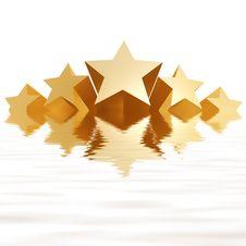 Free Golden Stars Stock Images - 4521914