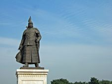 Free Statue Of Huangtlji Royalty Free Stock Photo - 4522175
