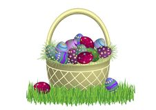 Free Gold Easter Basket Modern 2 Stock Photo - 4522540