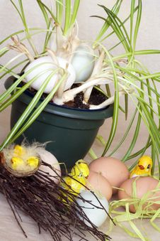 Free Easter Eggs Stock Photography - 4522992