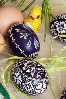 Free Easter Eggs Royalty Free Stock Photography - 4523027