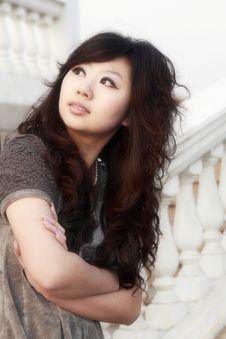 Free An Oriental Girl Stock Photos - 4523073