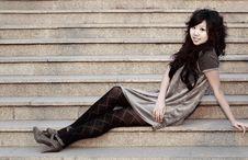 Free An Oriental Girl Stock Photos - 4523793