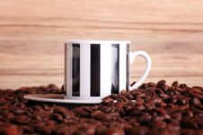 Free Coffee In A Cup Royalty Free Stock Photo - 4523885