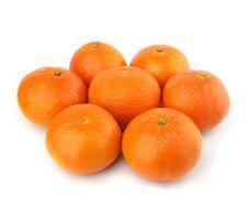 Group Of Oranges Stock Photo