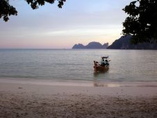 Free Evening Dreamy Thailand Royalty Free Stock Image - 4524156