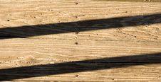 Shadows On Planks Stock Photo