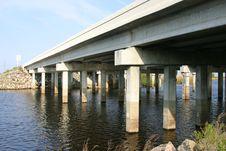 Free Bridge Over The Saint John S River, Florida Royalty Free Stock Photo - 4524865