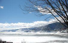 Shangri-La Winter Stock Image