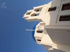 Church At Oia Stock Photography