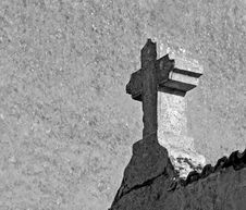 Free Stone Cross In France Stock Photography - 4525562