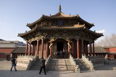 Shenyang Imperial Palace Stock Photography