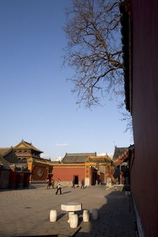 Free Shenyang Imperial Palace Royalty Free Stock Photos - 4525808