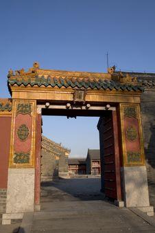 Shenyang Imperial Palace Stock Photography
