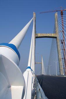 Free Chinese Guanhe Bridge Royalty Free Stock Photos - 4525858