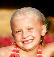 Free Young Girl Smiling Stock Images - 4525864