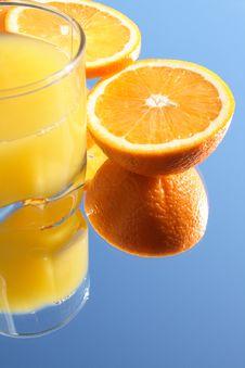 Free Fresh Orange Juice Royalty Free Stock Photos - 4526018