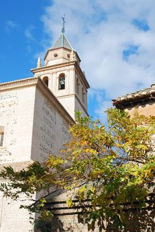 Free Alhambra Cathedral Royalty Free Stock Image - 4526026