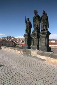 Free Prague Castle Royalty Free Stock Photography - 4526097