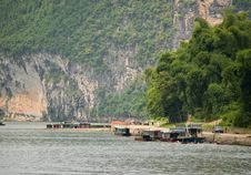 Free Chinese Boat In Guilin, China Stock Image - 4526531