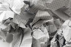 Free Crumpled Paper Ball. Royalty Free Stock Photography - 4527007