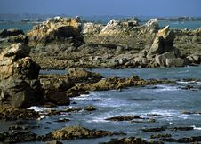 Free Coastline In Brittany,france Royalty Free Stock Image - 4527026