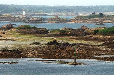 Free Coastline In Brittany On Ile De Brehat,france Stock Image - 4527131