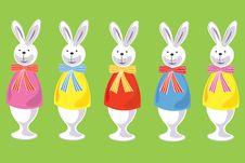 Free Easter Rabbit Royalty Free Stock Image - 4528266