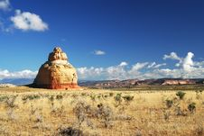 Free Church Rock In Utah Royalty Free Stock Photo - 4528285