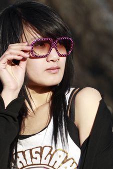 Free An Oriental Girl Stock Photos - 4528473