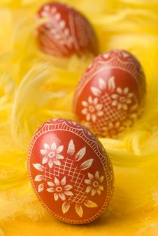 Free Easter Eggs. Royalty Free Stock Photos - 4528488