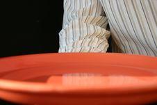 Free Waiter Plate Stock Image - 4528541